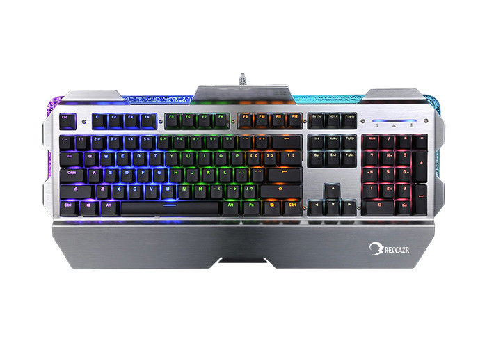 Metal Rgb Mechanical Keyboard Gaming , Custom Mechanical Keyboard Laptop